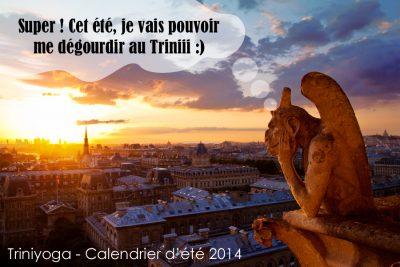 Gargouille Paris Notre-Dame, Trini Yoga été 2014