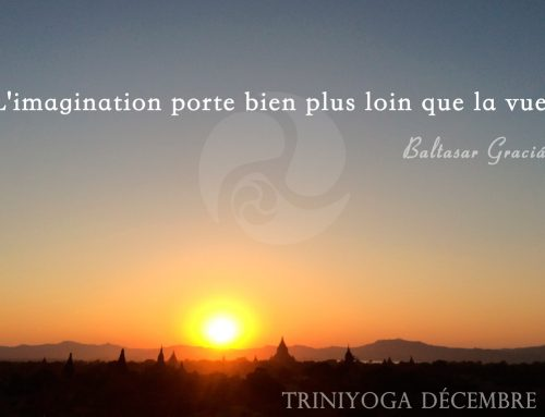 Citation – L'imagination porte bien plus loin que la vue