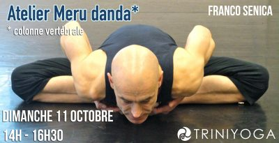 Franco Senica - posture yoga - atelier Meru Danda