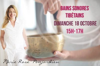 Marie-Rose Poujardieu - Bains sonores tibétains