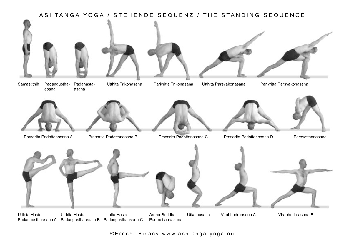 Photos de cours et Postures Ashtanga Vinyasa Yoga - TriniYoga