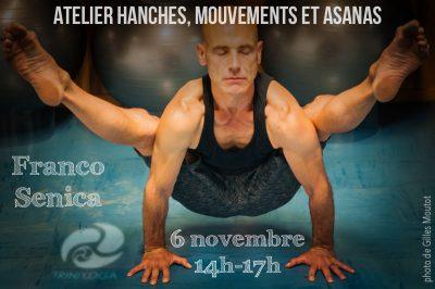 Posture Yoga Franco Senica - Atelier Trini Yoga Paris novembre 2016