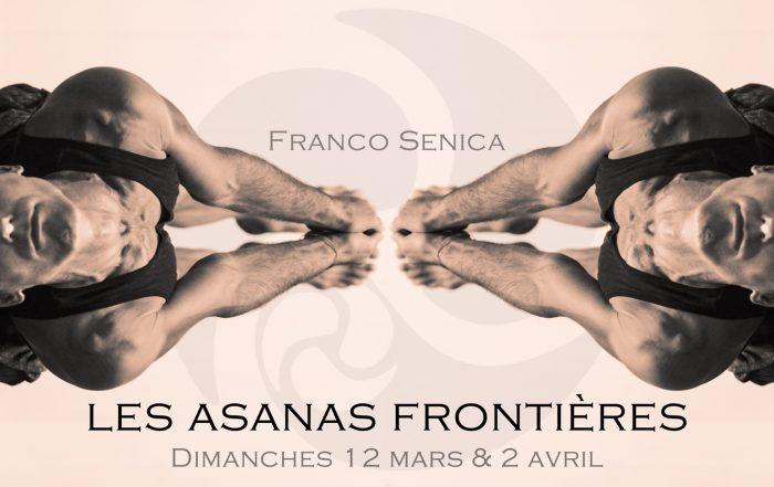 Atelier Asanas frontières, 2017, symétrie postures Franco Senica - Trini Yoga Paris