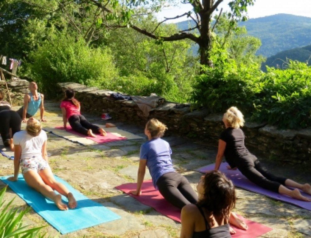 Retraite Ashtanga Vinyasa Yoga dans les Cévennes avec Franco été 2018