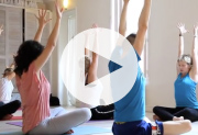 vid�o Laurence Gay au studio Trini Yoga Paris